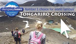 Book Transport for the Tongariro Crossing