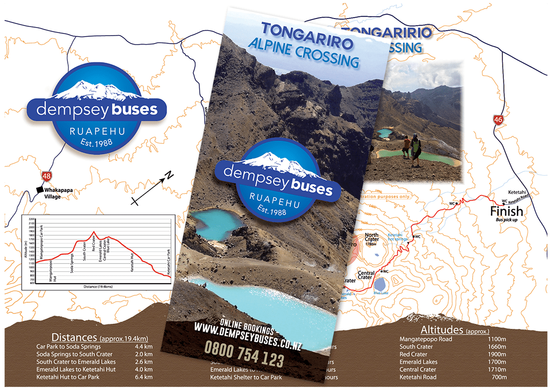 Dempsey Buses Tongariro Flyer